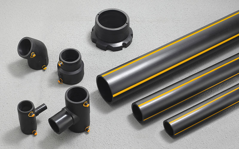 Hdpe Gas Pipes and Fittings