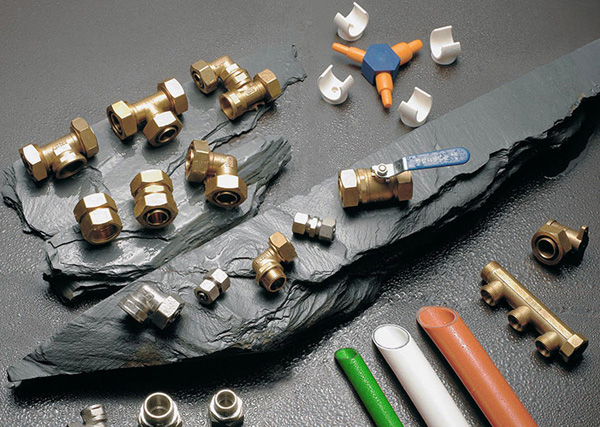 Brass Connectors for Pex-al-Pex Pipe