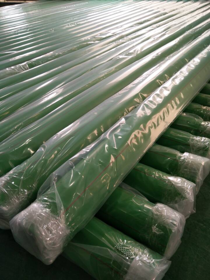 Exported to Thailand-Green PPR-Fiberglass-Composite pipe DN110mm